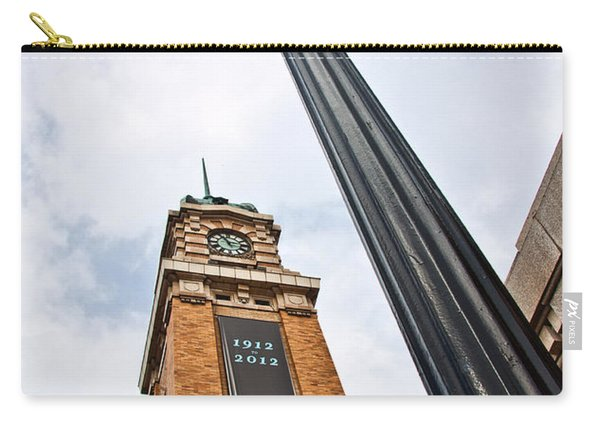 Market Clock Tower Carry-all Pouch