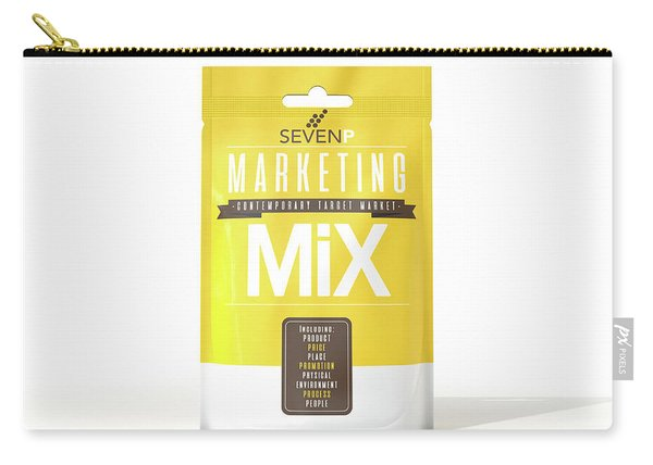 Marketing Mix 7 P's Carry-all Pouch