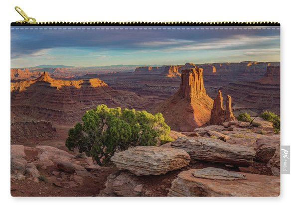Marlboro Point Sunset Panorama Carry-all Pouch