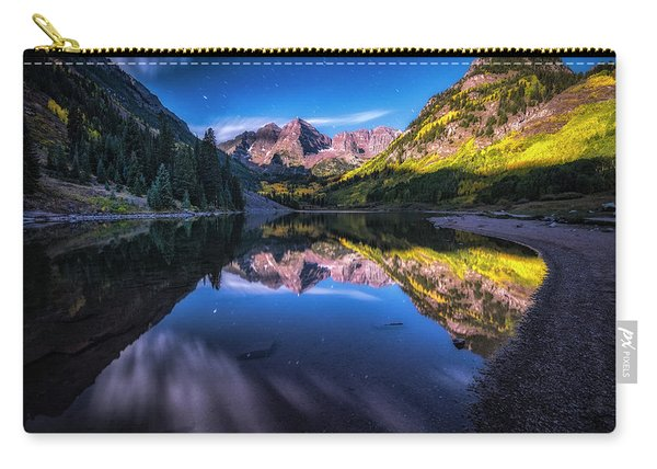 Maroon Bells By Moonlight Carry-all Pouch