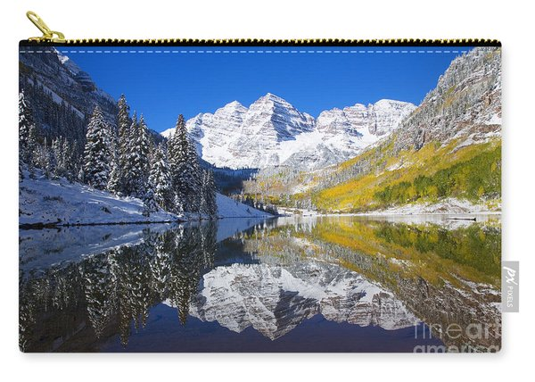 Maroon Lake And Bells 1 Carry-all Pouch