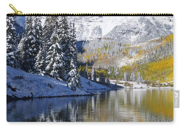 Maroon Lake And Bells 2 Carry-all Pouch