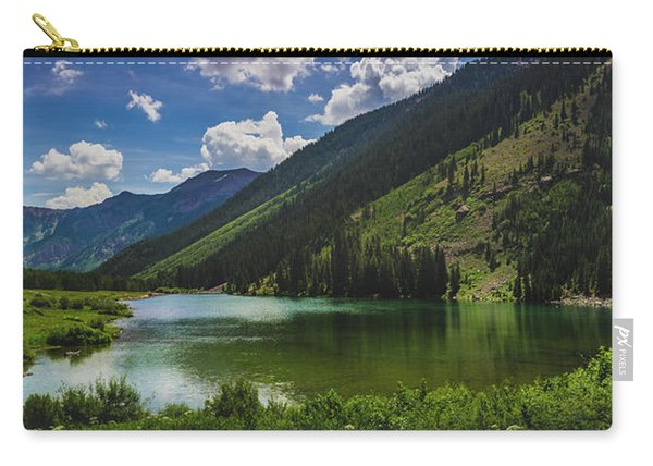 Maroon Lake Panorama Carry-all Pouch