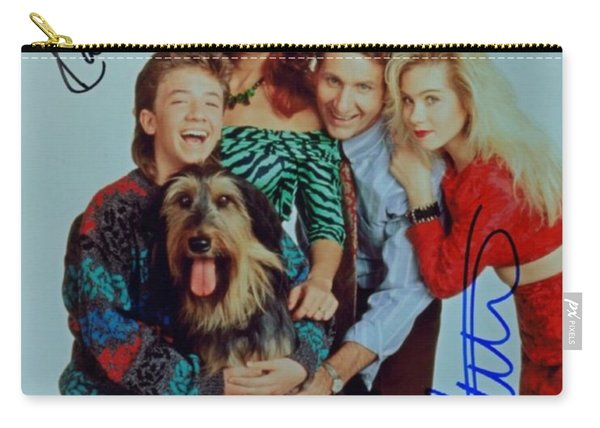 Married With Children Autographed Poster Carry-all Pouch