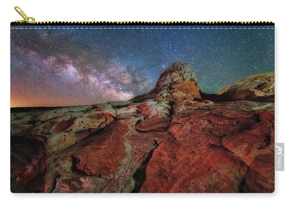 Mars Or White Pocket Milky Way Carry-all Pouch