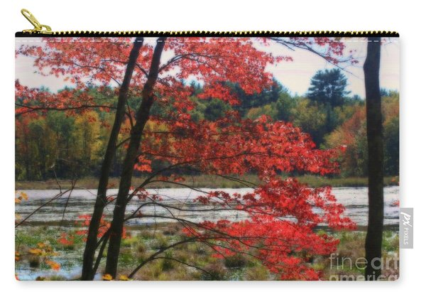Marsh In Autumn Carry-all Pouch