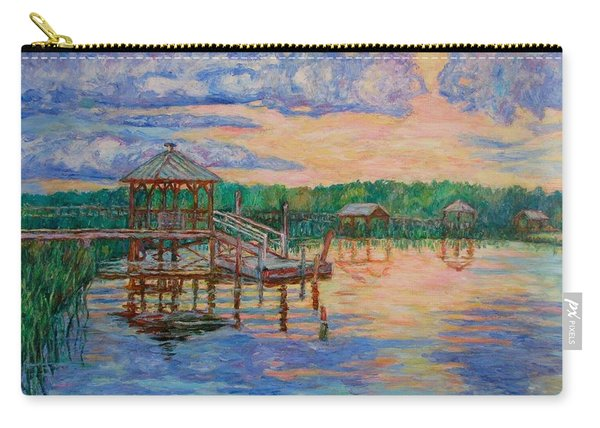 Marsh View At Pawleys Island Carry-all Pouch