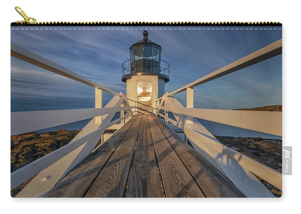 Marshall Point Lighthouse At Sunrise Carry-all Pouch