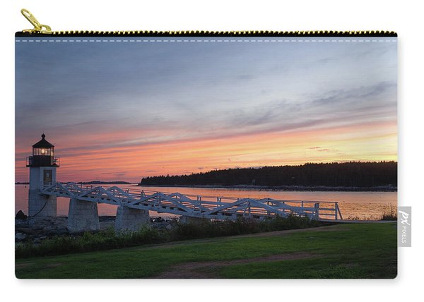 Marshall Point Lighthouse, Port Clyde, Maine -87444 Carry-all Pouch