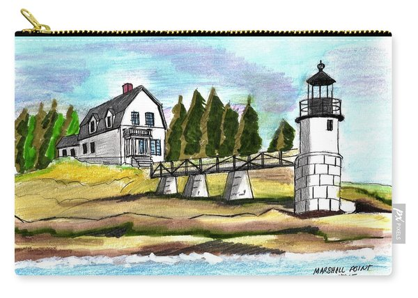 Marshall Point Lighthuse Carry-all Pouch