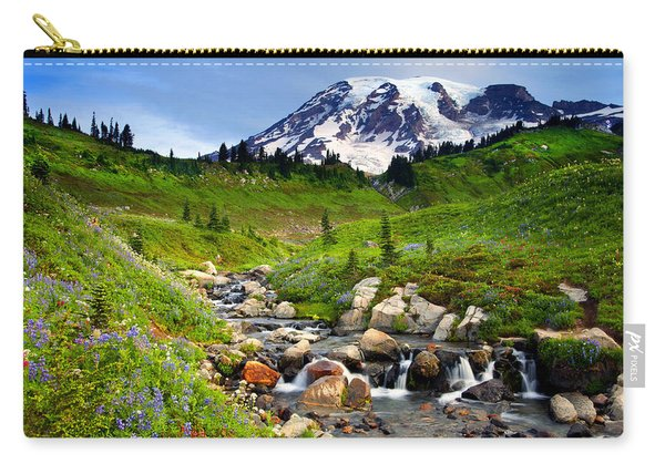 Martha Creek Wildflowers Carry-all Pouch