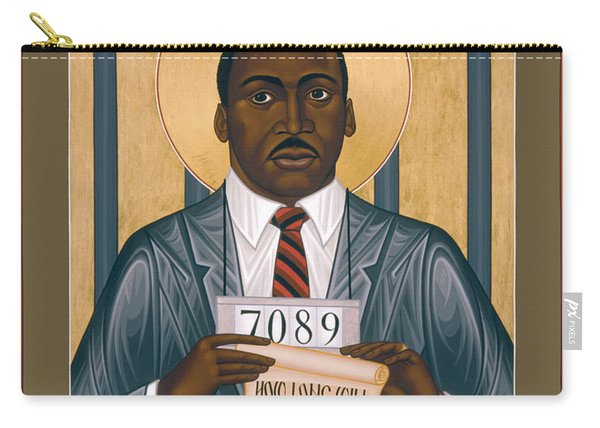 Martin Luther King Of Georgia  - Rlmlk Carry-all Pouch