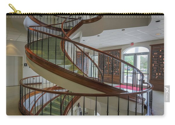 Marttin Hall Spiral Stairway 2 Carry-all Pouch
