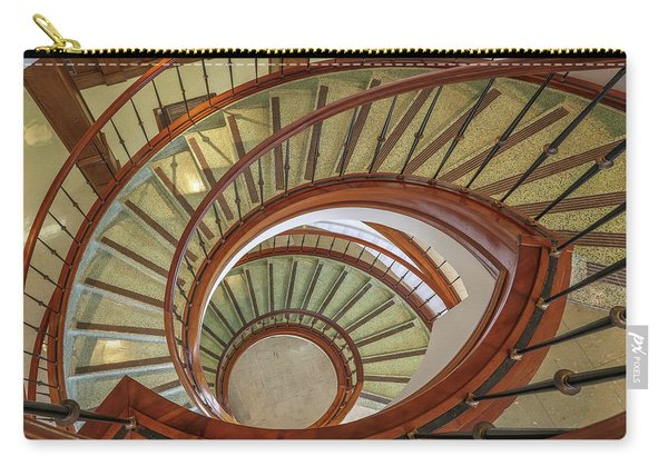 Marttin Hall Spiral Stairway Carry-all Pouch
