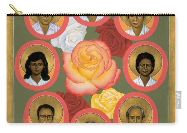 Martyrs Of The Jesuit University - Rlmju Carry-all Pouch
