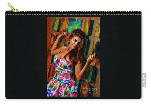 Mary-kate Fitzpatrick Carry-all Pouch