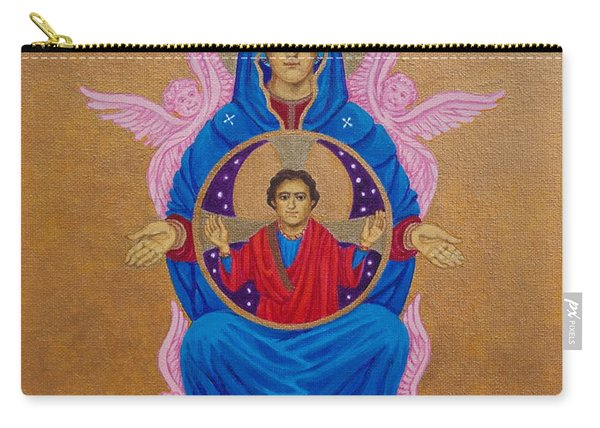 Mary Mother Of Mercy Icon - Jubilee Year Of Mercy Carry-all Pouch