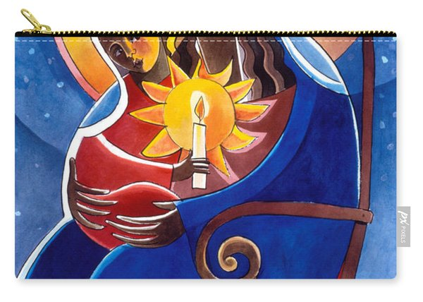 Mary, Seat Of Wisdom - Mmwis Carry-all Pouch