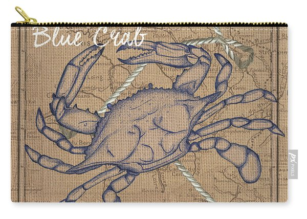 Maryland Blue Crab Carry-all Pouch