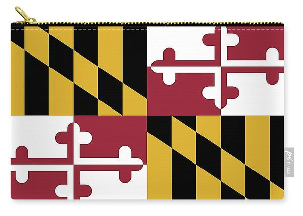 Maryland State Flag Carry-all Pouch