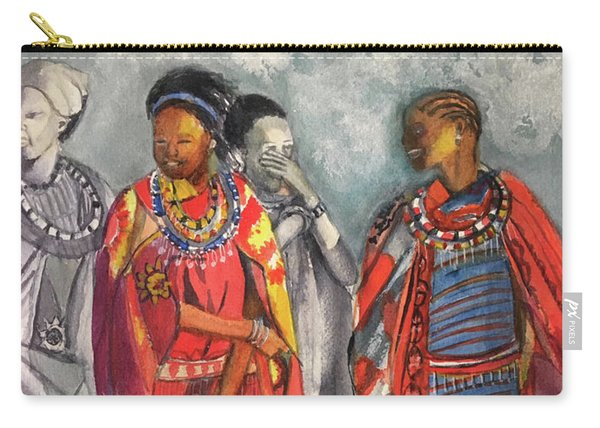 Masai Women Carry-all Pouch