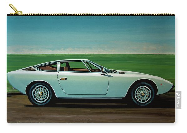 Maserati Khamsin 1974 Painting Carry-all Pouch