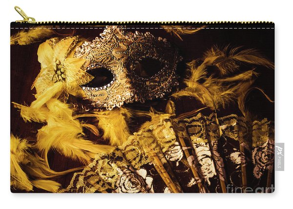 Mask Of Theatre Carry-all Pouch