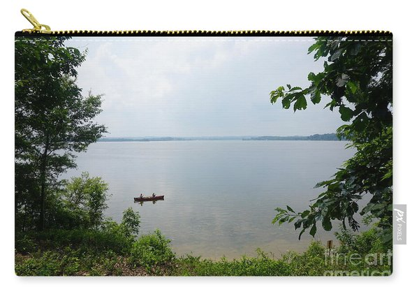 Carry-all Pouch featuring the photograph Mason Neck Virginia by Jimmy Clark