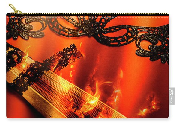 Masquerade Of Passion Carry-all Pouch