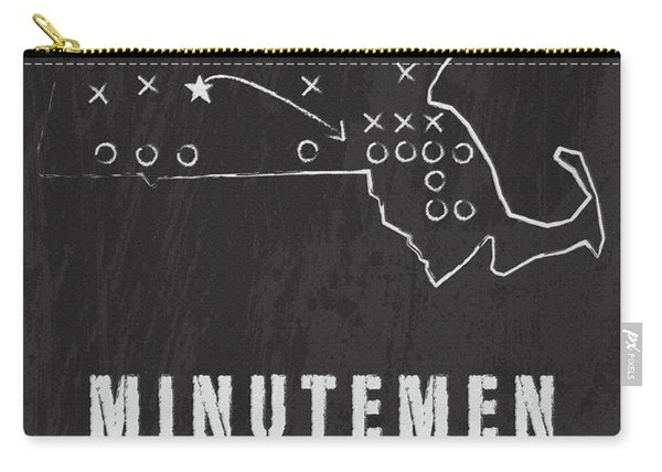 Massachussets Minutemen Country Carry-all Pouch