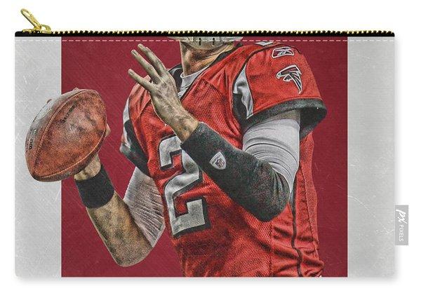 Matt Ryan Atlanta Falcons Art Carry-all Pouch