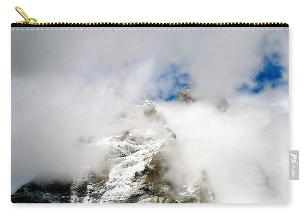 Matterhorn In The Clouds Carry-all Pouch