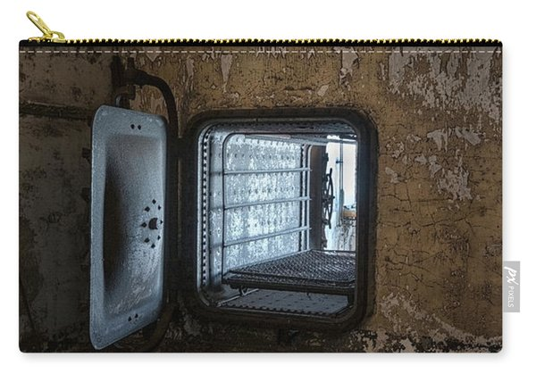Carry-all Pouch featuring the photograph Mattress Cleaner by Tom Singleton
