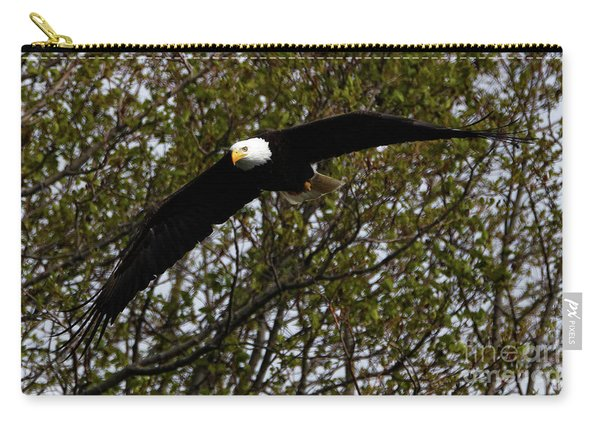 Mature Bald Eagle Carry-all Pouch