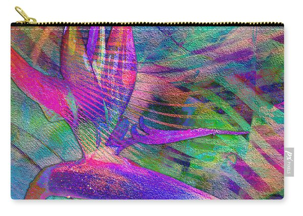 Maui Bird Of Paradise Carry-all Pouch