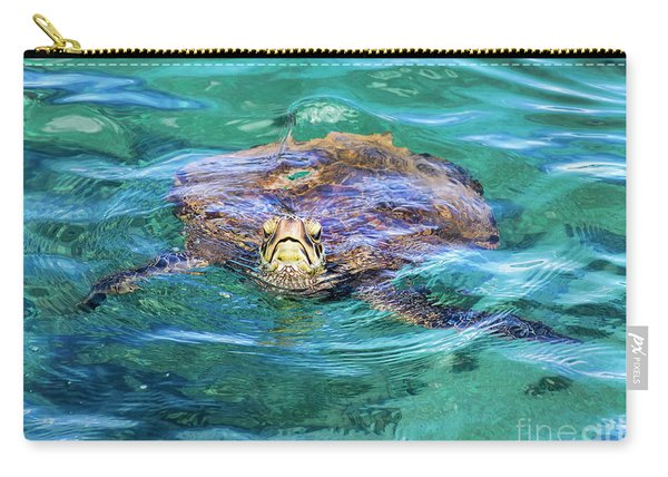 Maui Sea Turtle Carry-all Pouch