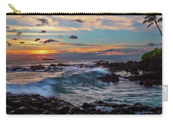 Maui Sunset At Secret Beach Carry-all Pouch