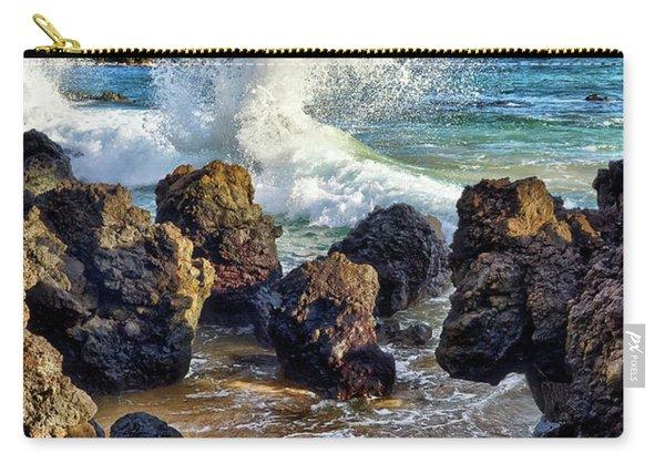 Maui Wave Crash Carry-all Pouch