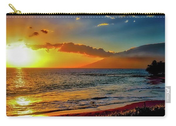 Maui Wedding Beach Sunset  Carry-all Pouch