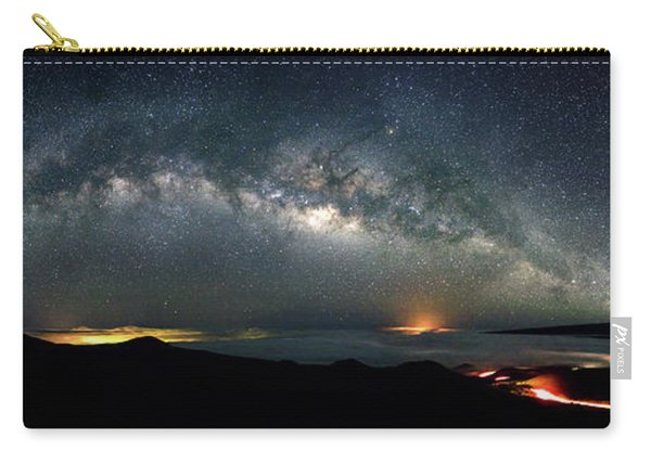 Mauna Kea Milky Way Panorama Carry-all Pouch