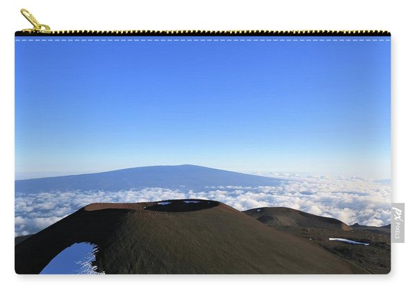 Mauna Loa In The Distance Carry-all Pouch