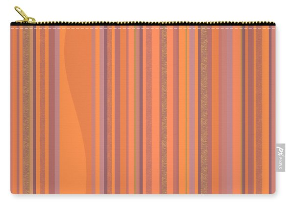May Morning Vertical Stripes Carry-all Pouch