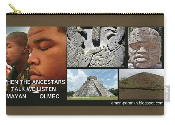 Mayan Olmec Carry-all Pouch