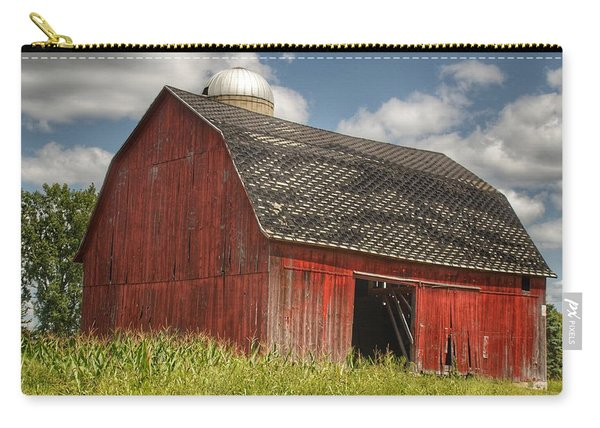 0023 - Mayville Red I Carry-all Pouch