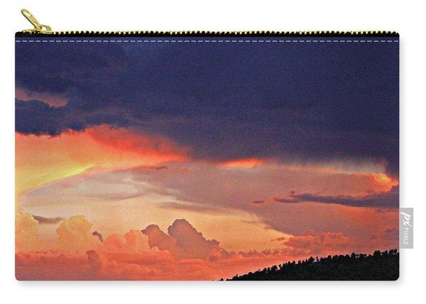 Mazatzal Peak Sunset Carry-all Pouch