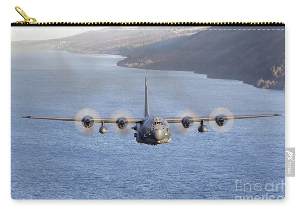 Mc-130h Combat Talon II Over Loch Ness Carry-all Pouch
