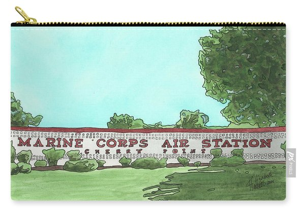 Mcas Cherry Point Welcome Carry-all Pouch