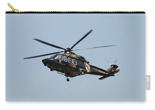 Md State Police Helicopter Carry-all Pouch