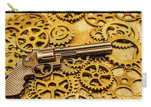 Mechanisms Of The Wild West  Carry-all Pouch