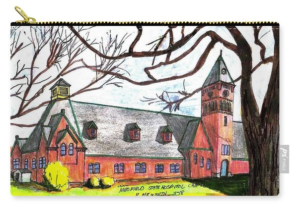Medfield State Hospital Chapel Carry-all Pouch